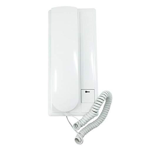 MSNDIAN Gebouw intercom indoor unit ( toegangscontrole bedrade deurbel telefoon intercom telefoon niet-visuele toegangscontrole huishouden Huishoudelijke goederen telefoon