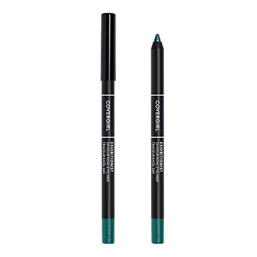 COVERGIRL Exhibitionist 24-Hour Kohl Eyeliner, Emerald Metallic, 0.04 oz
