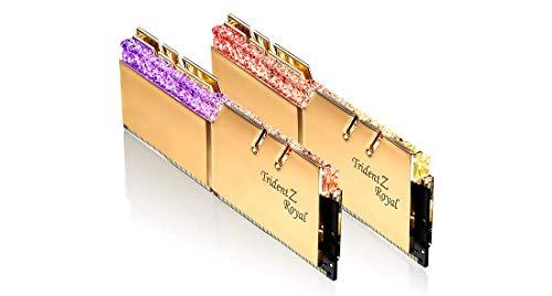 G.Skill Trident Z Royal F4-3600C16D-64GTRG Memory Module 64 GB 2 x 32 GB DDR4 3600 MHz
