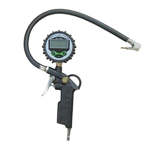 GoolRC Medidor de Presión Digital Pantalla LCD Inflador de inflado de neumáticos de Aire Medidor Digital 220PSI