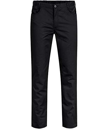 GREIFF Herren-Hose Five Pocket Cuisine Basic 5321 Regular Fit, Farbe: Schwarz, Größe: 56