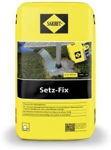 SAKRET Setz-Fix Fertiggemisch für schnelle Montage 25 kg/ Sack