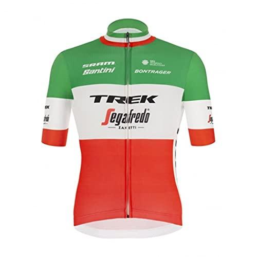 Santini Replica Jersey Trek SEGAFREDO 2021 - Colore - Verde, Misure - M