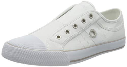 s.Oliver Damen 5-5-24635-26 100 Slipper, White, 41 EU