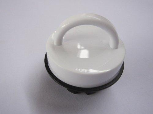 alfi 9103.010.011 Original Ersatzteil Schraubverschluß weiß glänzend, für Isolierkanne 0105/0115 Kugel