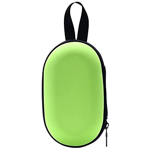 FANGCHENG Altoparlante Cassa Portatile Silicone Cassa di Viaggio Protettiva per GO3 Go Bluetooth Speaker Portatile Player Accessori Altoparlante Bluetooth (Color : Green)