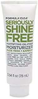 Formula 10.0.6 Seriously Shine Free Mattifying Oil-Free Moisturizer with Aloe Vera & Bamboo 2.54 fl oz (75 ml)