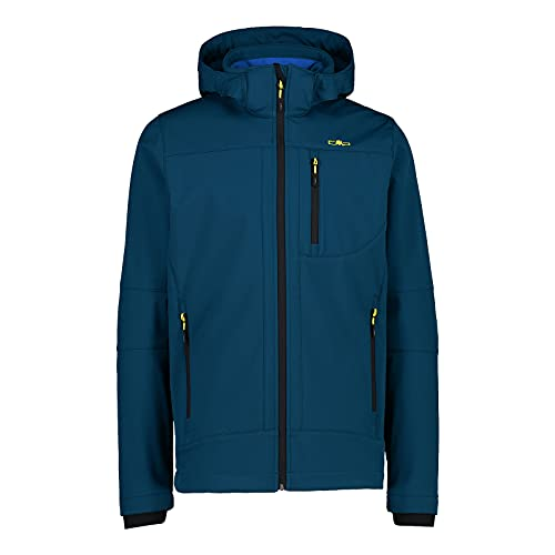 CMP Softshell jacket with ClimaProtect WP 7,000 technology , Man, Blue Ink, 50