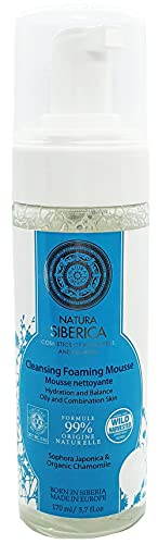Limpiador Mousse Espumoso - Piel Grasa Mixta - 170 ml - Natura Siberica