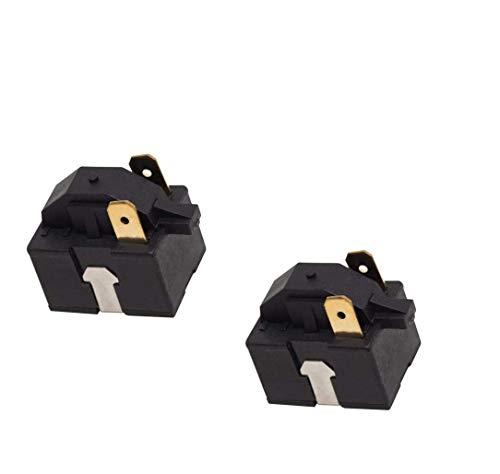 Zuverlässiges 6748C-0004D Kühlschrank-Startrelais, Ersatzteil passend für LG & Kenmore Kühlschränke und ersetzt 6749C-0014E, EBG32606502, PS9865140, 2 Stück