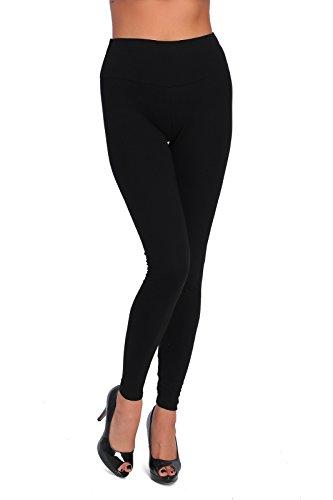 FUTURO FASHION - Legging Long pour Femme - Coton Doux - Grandes Tailles