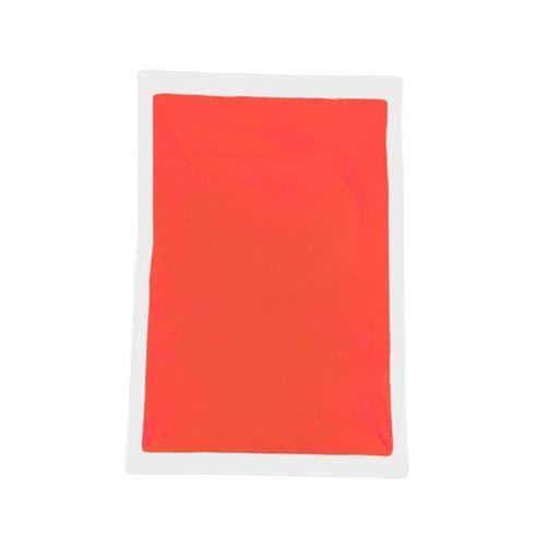 Arvin87Lyly - Polvere luminosa fluorescente in confezione da 50g, brilla al buio, colorata, brillante, per progetti di arti plastiche Orange Red