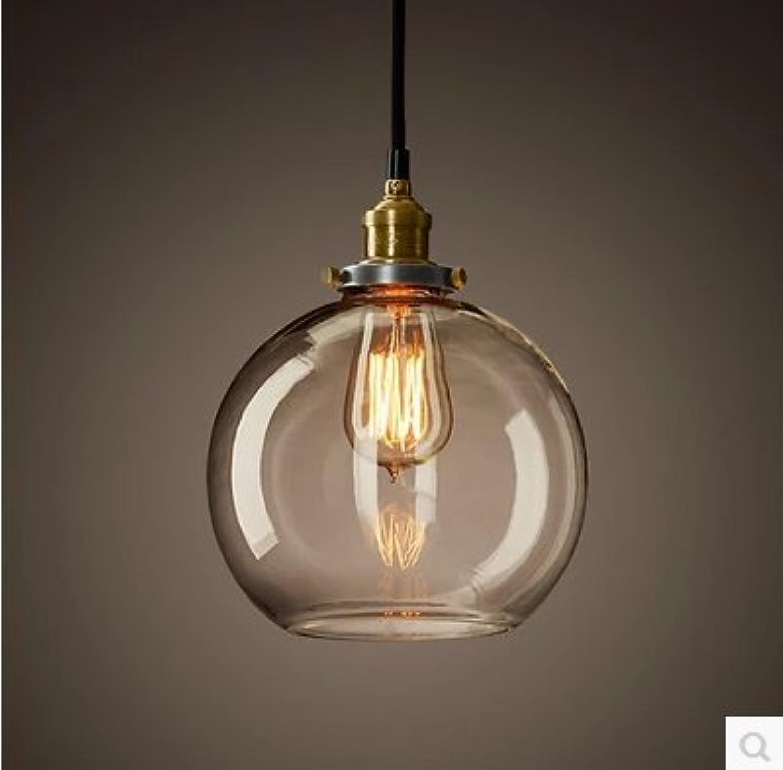 verre en suspension industrielle créative Loft LuckyLibre