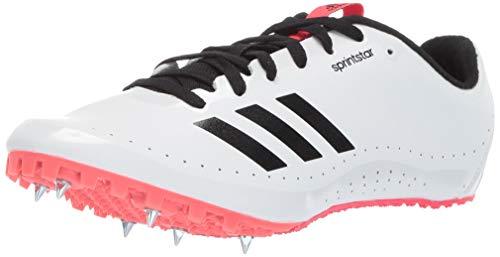 adidas Damen Sprint Star Sprintstar, Weiß/Schwarz/Schockrot, 40 EU