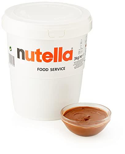 Ferrero Nutella, per stuk verpakt (1 x 3 kg)