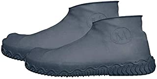 Huazi2 Unsex Waterproof Rain Boot Shoe Anti Slip Reusable Latex Shoe Covers