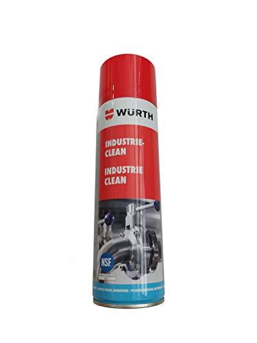 Würth Reiniger Industrie Clean 500 ml 893140 Entfernung von Klebebandresten, Etiketten und Folienaufklebern