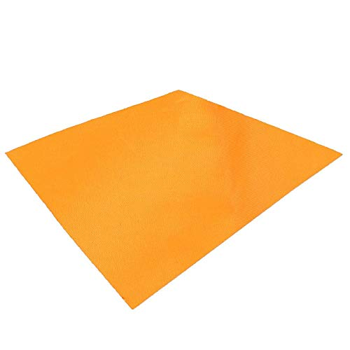 TRIWONDER Waterproof Hammock Rain Fly Tent Tarp Footprint Camping Shelter Ground Cloth Sunshade Mat for Outdoor Hiking Beach Picnic (Orange, M - 118 x 86in)