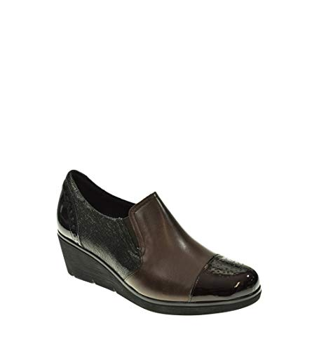 Zapato CUÑA - Mujer - Marron - pitillos - 1224-41