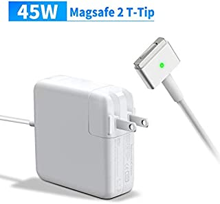 Mac Book Air Charger, Replacement 45W MagSafe 2 Power Adapter Compatible with Mac Book Air 13-inch &11-inch T-Tip Magnetic Connector Charger