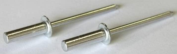 25 1//4 Closed End Rivets Aluminum Rivet Steel Mandrel