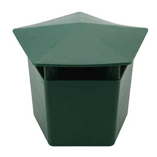 "Kicode Verde5*4.5 * 4\"" LumacaGintrapEco-friendlySnailGageTrappolaperraccoglierelelumacheStrumen Lumaca Gintrap Eco-Friendly"