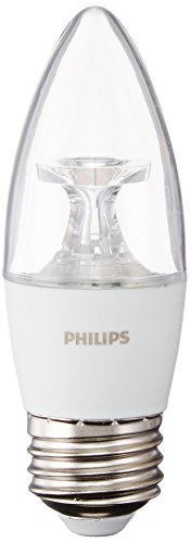 Philips Dimmable 4.5W 2700K Decorative LED Bulb, E26 Base