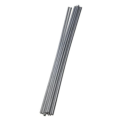 1.6mm 2mm Easy Fasy Melt Barras de soldadura de aluminio baja Temperatura Barras de soldadura fáciles sin necesidad de polvo (Diameter : 1.6mm -10 pcs)