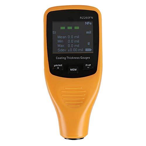 KANJJ-YU Herramientas Mini pintura capa espesor medidor herramienta de prueba para el cuerpo del coche RZ260FN Digital