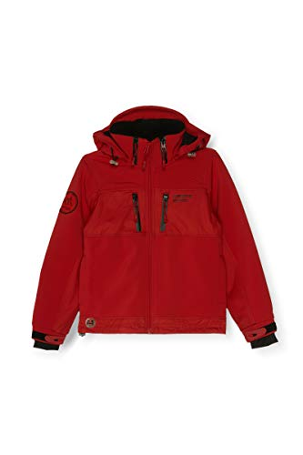 HIMALAYA MOUNTAIN - Trekkin Kids - Softshell - Enfant (12 Ans, Red/Black)