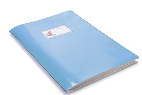Copertina Quaderno A4 Azzurra