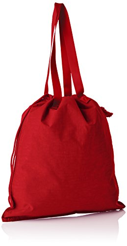 Kipling New Hiphurray, Women's Tote, Red (Lively Red), 1x4x44.5 cm (B x H T)