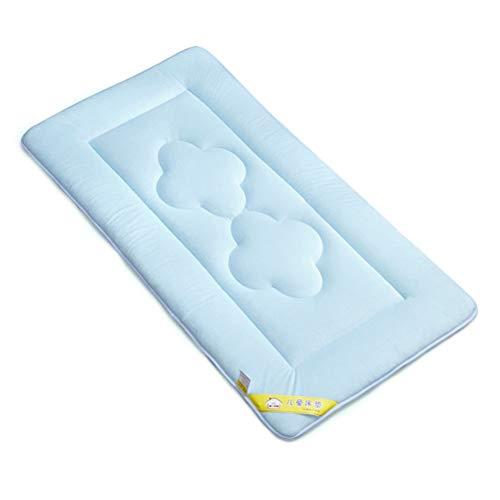 Yousiju Baby Stilldecke Blatt Kristall Samt Neugeborenes Komfortable weiche Matratze Bettlaken Wickelunterlagen Abdeckungen wiederverwendbar 22 * 39 in (Color : Blue)