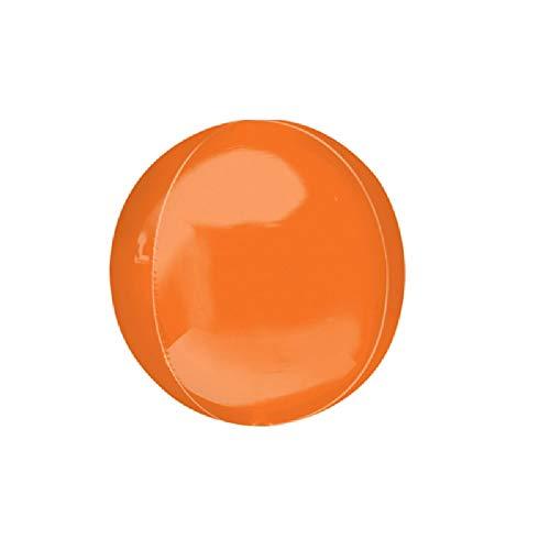 Anagram - Globo Supershape Orbz (Talla Única) (Naranja)