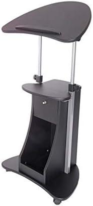 Scranton Co Deluxe Height Adjustable Cart in Laptop Max 74% Max 44% OFF OFF Black