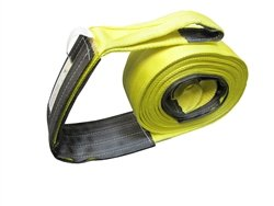 Learn More About Cargo Equipment Corp. 10 X 35 Ft Double Ply Recovery Strap with Wear Pad in Loops ...
