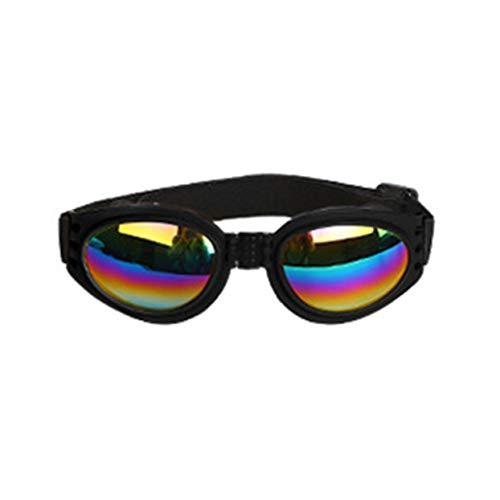 Occhiali da Sole alla Moda Cani Occhiali da Sole Antivento Occhiale da Sole UV Proteggi Accessori per Occhiali da Sole per Cani Resistenti al Sole - N
