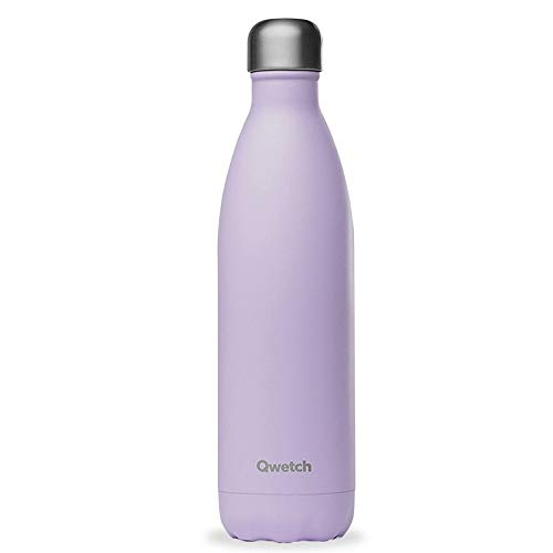 QWETCH - QD3204 - Bouteille isotherme Pastel LILAS 750 ml