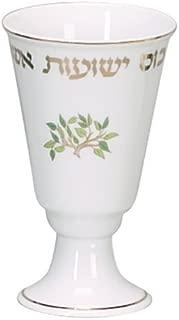 Passover Porcelain Elijah Cup in Tree of Life Design