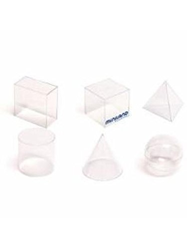 Volume Plastique Transparent - Lot De 6