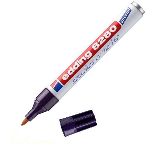 edding 8280 securitas Marqueur UV - Incolore - 1 stylo - Poi