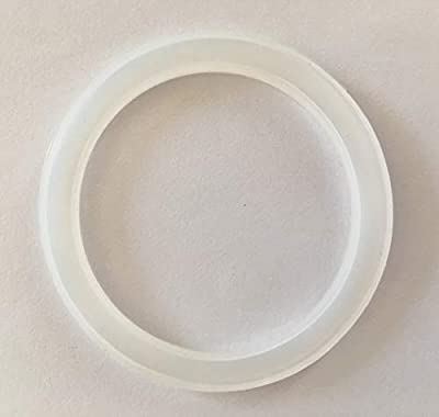 24 Reusable Silicone Seals for Plastic Lids (70mm/2.75in) of Regular Mouth Mason Jars, Seal Sits on Rim of Jar Not Inside Lid, Gaskets fit Ball, Kerr And All Regular Mouth Mason Jars