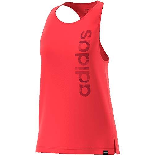 adidas W Boxed Camo Tk Camiseta de Tirantes, Mujer, rojglo/Buruni, XS