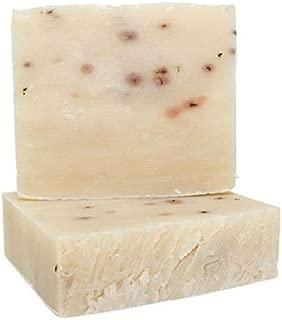 Large Bar 4.5 oz Eucalyptus Hemp & Tea Tree Bar Soap - Handmade, Vegan & GMO Free Face & Body Cleanser featuring Eucalyptus, Hemp & Tea Tree Essential Oils and Peppermint Leaves for exfoliation