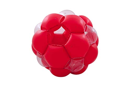 LEXiBOOK Inflatable Giant Ball Giant Ball for Outdoor Play, Game Safety, Red / Transparent, PA100_11