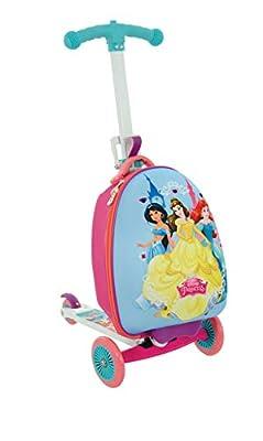 Disney Princess M14377-01 Scootin Suitcase, Purple