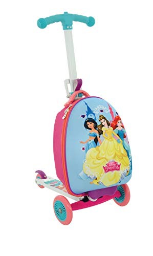 Disney Princess M14377-01 Scootin Suitcase, Purple