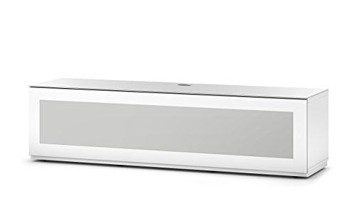 Sonorous STD 260I-WHT-WHT-BW Studio TV-Lowboard für 177,8 cm (70 Zoll) Fernseher weiß
