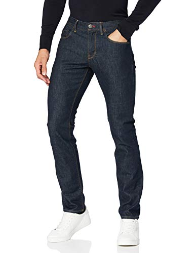 Tommy Hilfiger Hombre CORE DENTON STRAIGHT JEAN Jeans, Azul (New Clean Rinse 919), W38/L32