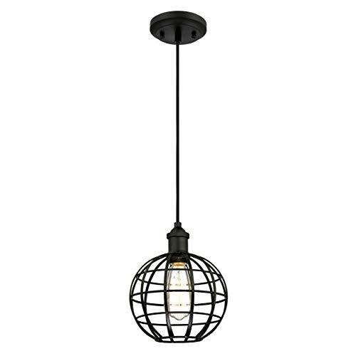 Westinghouse 6105040 Suspension cage ronde E27 Acier Noir mat